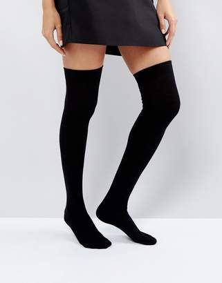 Asos Design Thigh High Socks