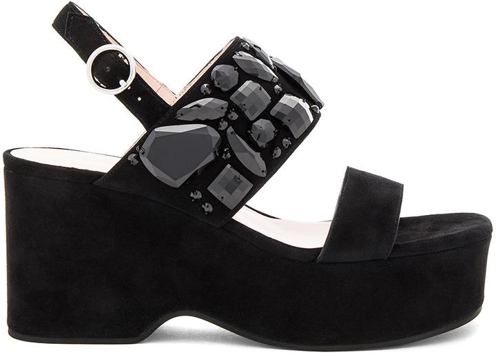 Marc JacobsMarc Jacobs Lily Embellished Wedge Sandal