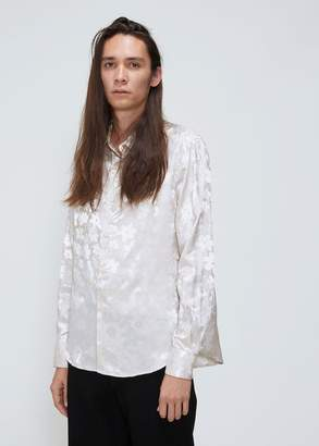 Eckhaus Latta Floral Satin Shirt