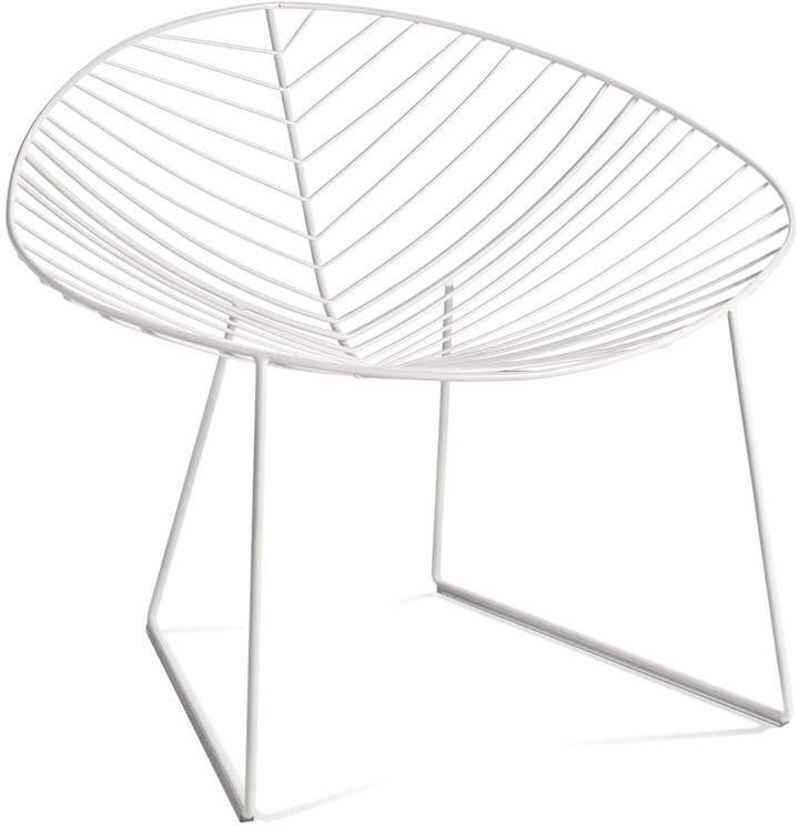 Arper - Leaf Lounge-Sessel, Weiß