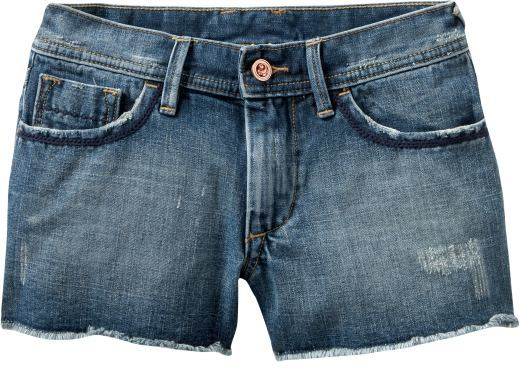 Women's Mid-Rise Denim Cut-Off Shorts (2 1/2