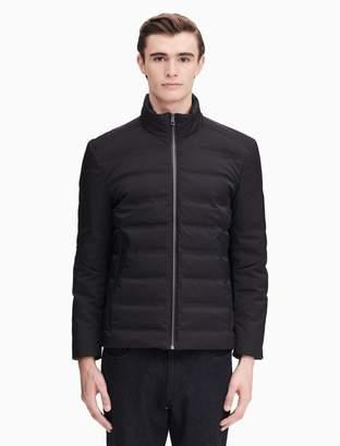 Calvin Klein x-fit ultra slim fit down zip jacket