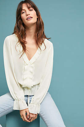 Central Park West Melody Ruffled Blouse