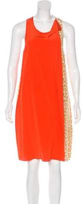 3.1 Phillip Lim Animal Printed Silk Dress