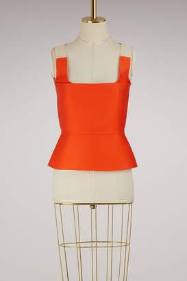 Maison Rabih Kayrouz Sleeveless satin top
