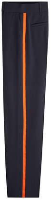 Victoria Beckham Victoria High-Waist Wool Pants