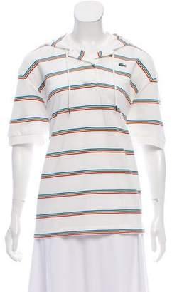 Lacoste Stripe Polo Top w/ Tags
