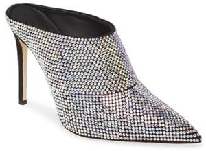 Giuseppe Zanotti Crystal Embellished Mule