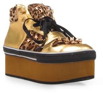 Privileged Whistle Studded Platform Sneaker