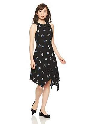 Armani Exchange A|X Women's Asymmetrical Print Dress