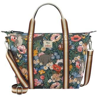 Cath Kidston Womens Disney Jungle Flowers Lightweight Cross Body Bag - Blue