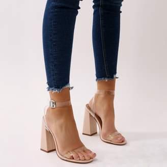 c3ba7b0520b Charlotte Perspex High Heels Patent
