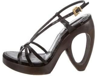 d63d6bcc7b8 Louis Vuitton Platform Heel Sandals For Women - ShopStyle Canada