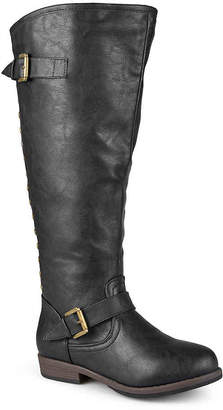 Journee Collection Spokane Extra Wide Calf Riding Boot - Women's