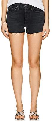 GRLFRND Women's Karolina Denim Shorts - Black