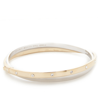 Kate Spade New York Full Circle Pave Double Bracelet $88 thestylecure.com