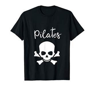 Pilates Funny Pirate Workout Gift T-shirt