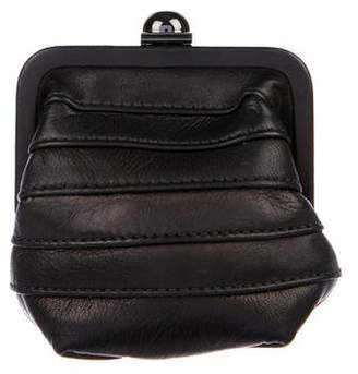 Reed Krakoff Pleated Leather Change Purse