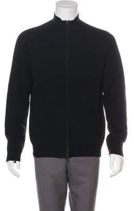Theory Cashmere Zip Sweater