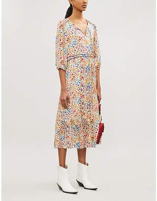 BA&SH Reese floral-print woven dress