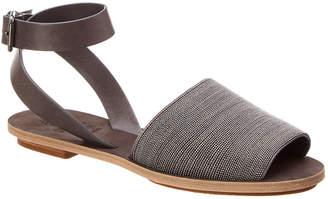 Brunello Cucinelli Embellished Leather Sandal