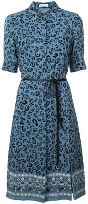 Altuzarra leopard print shirt dress