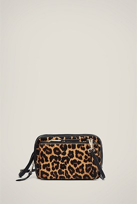 Witchery Sabine Print Leather Bag