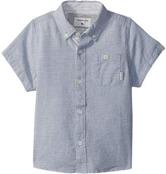 Quiksilver Waterfall Short Sleeve Top Boy's Short Sleeve Knit