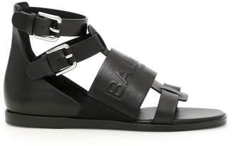 Balmain Logo Sandals