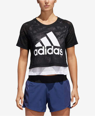 adidas ID Layered Cropped T-Shirt