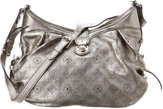 Louis Vuitton Silver Mahina Leather Xs Shoulder Bag