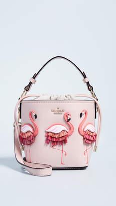 Kate Spade Flamingo Pippa Bucket Bag