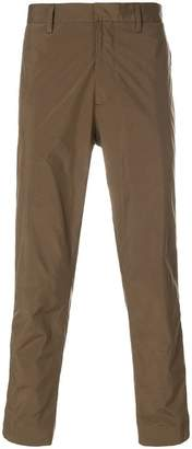 Prada ankle zip trousers
