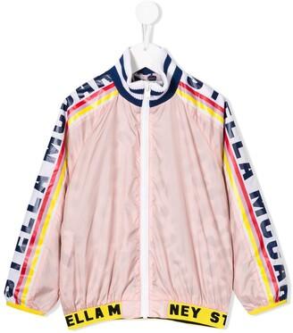 Stella McCartney tape logo jacket