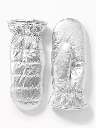 Old Navy Quilted Water-Resistant Mittens for Women