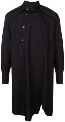 Comme des Garcons asymmetric oversized shirt