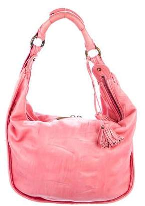 Marc Jacobs Distressed Leather Hobo
