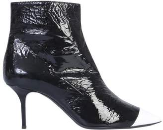 MSGM Contrast Colour Pointed Toe Boots