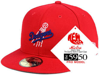 New Era Los Angeles Dodgers Retro Stock 59FIFTY Fitted Cap