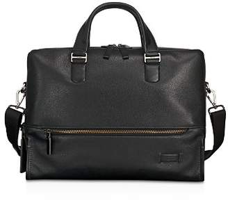 Tumi Harrison Leather Horton Double Zip Briefcase