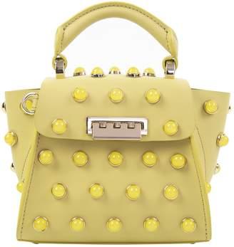 Zac Posen Yellow Leather Handbag