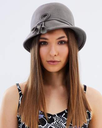 Cloche Felt Bucket Hat