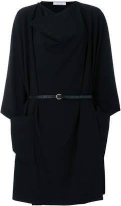 Jean Paul Gaultier Knott draped belted dress