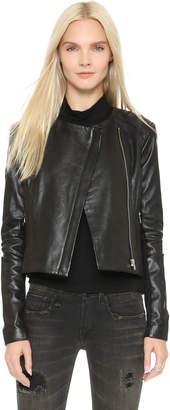 Veda Dali Classic Leather Jacket