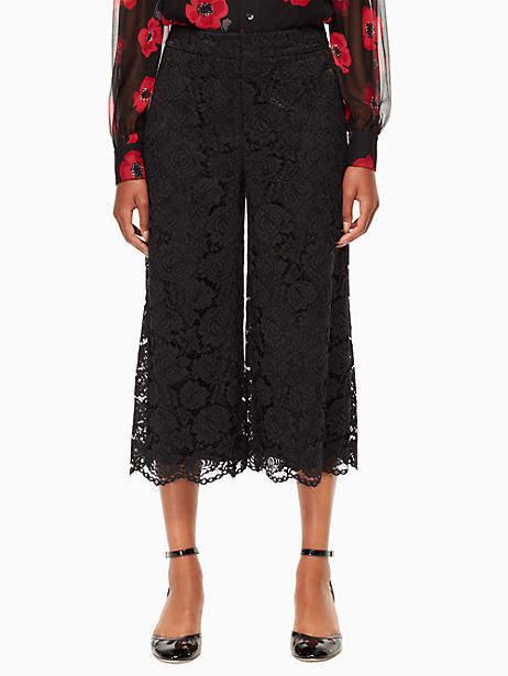 Poppy lace culotte