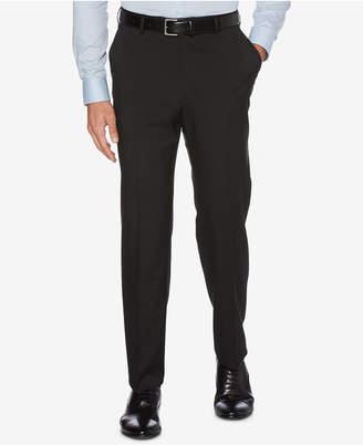 Perry Ellis Closeout! Men Portfolio Classic-Fit Stretch Crosshatch Dress Pants