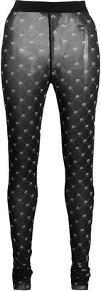 Diesel footless print tights