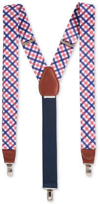 Club Room Men Gingham Suspenders