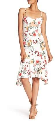 NSR Ruffle Hem Dress