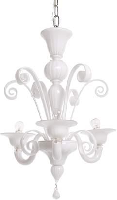 ABC Home Modern 3-Light Chandelier White